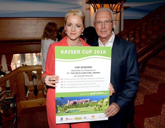 Golfmotion unterstützte Franz Beckenbauers Kaiser Cup.