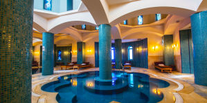 Spa relaxing pool