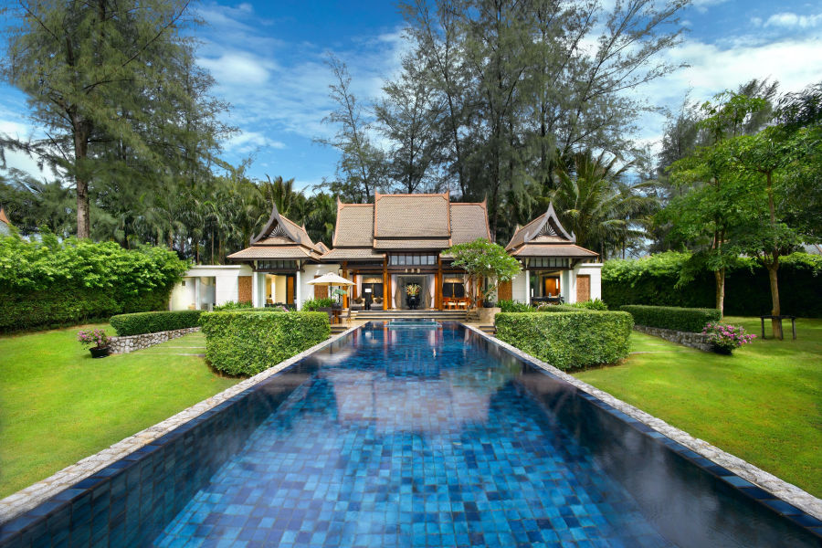 Double Pool Villa