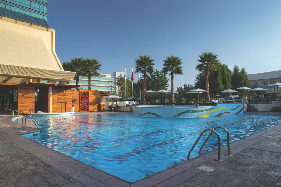 Pool Bereich