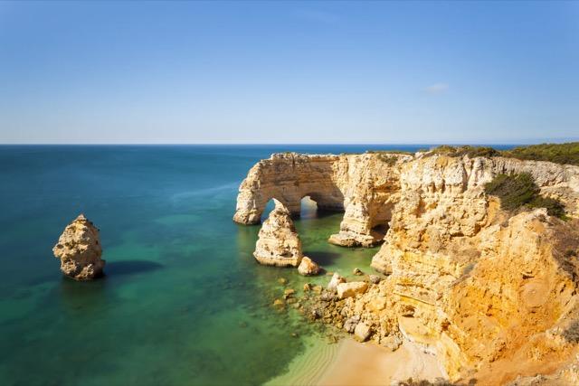 Algarve Kueste