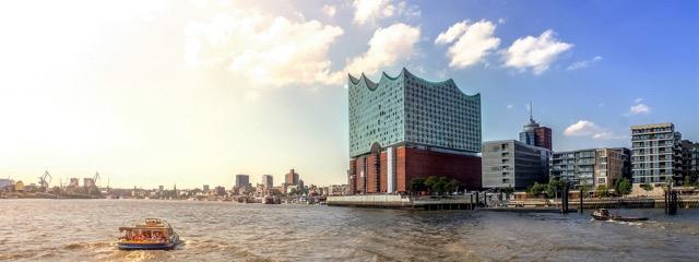 Hamburgs Wahrzeichen, die Elbphilharmonie.