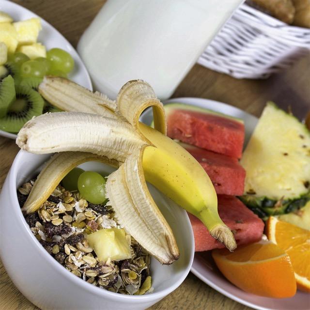 Gesundes Frühstück für Golfer: Müsli ist eine gute Option.