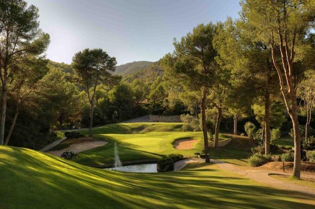 Son Vida Golfplatz Mallorca.