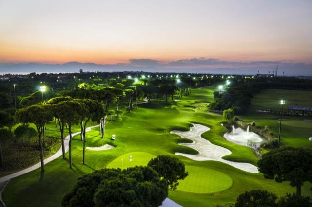 Golfplatz Montgomerie Maxx Royal Türkei.