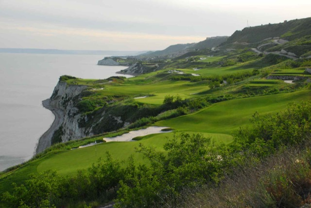 Thracian Cliffs Golf Bulgarien.