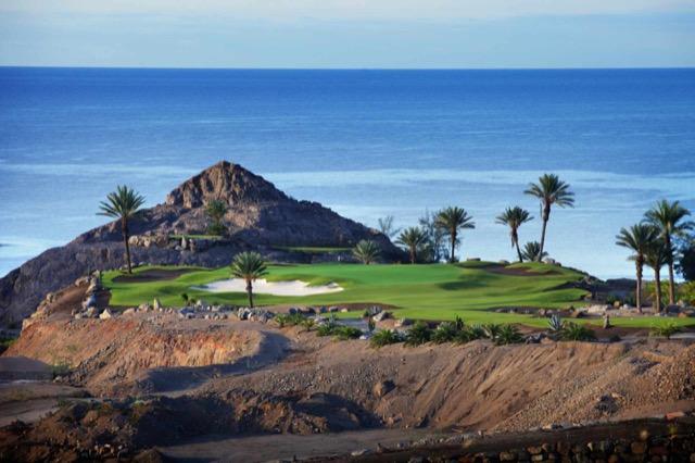 Golfplatz Anfi Tauro auf den Kanarischen Inseln.