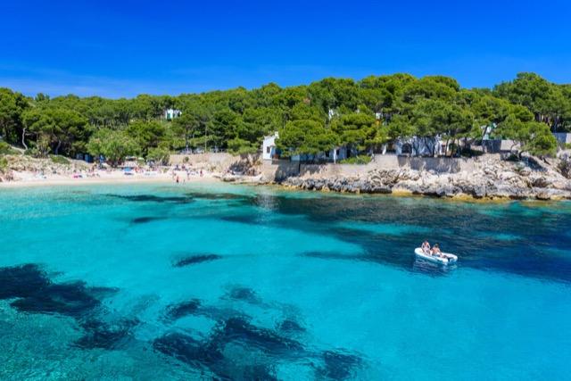 Bucht von Cala Ratjada Mallorca