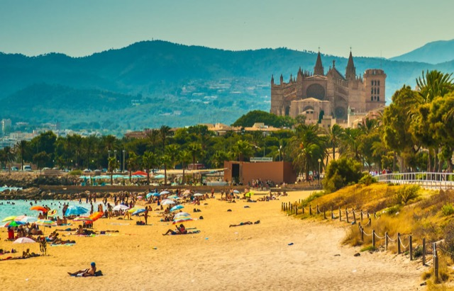 Strand Palma de Mallorca