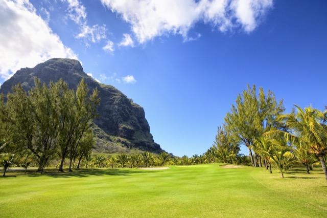 Golfplatz auf Mauritius, das beliebteste Fernreiseziel der Golfmotion-Gäste.