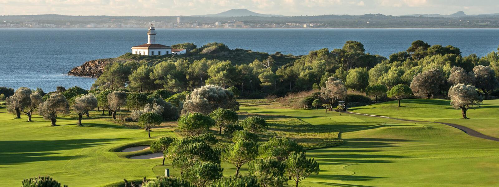 Schöne Aussichten im Club de Golf Alcanada