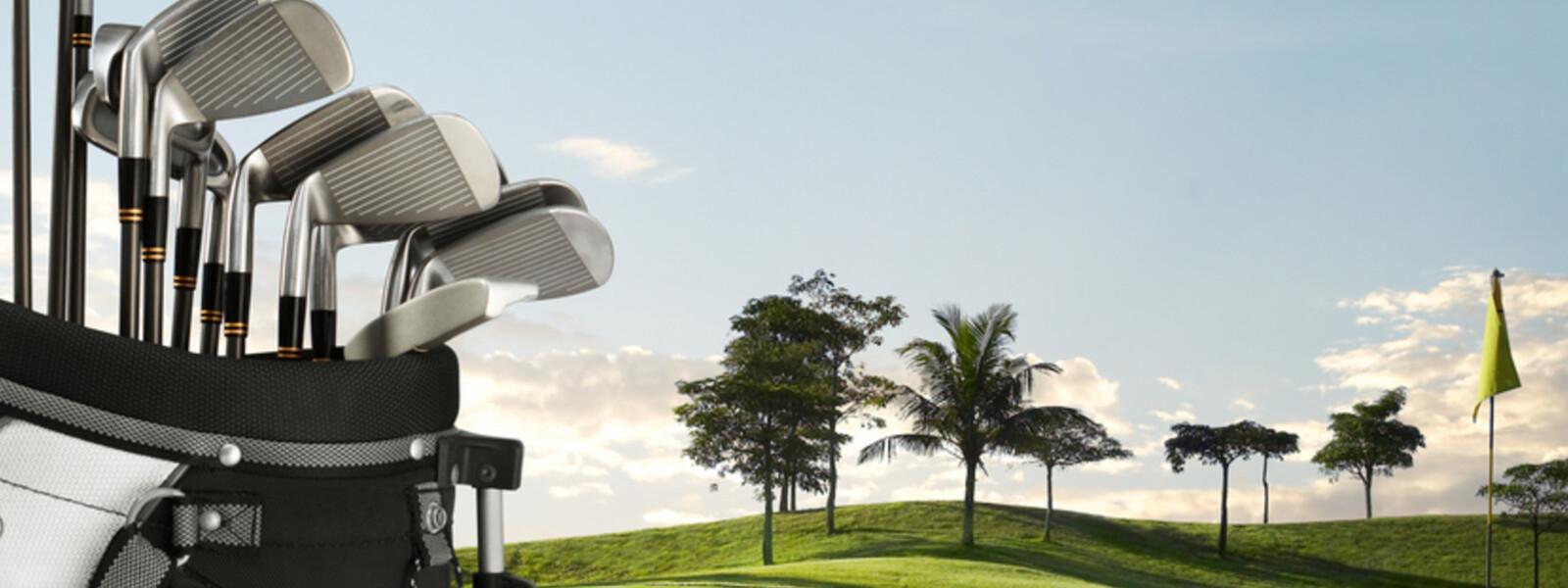 Gebühren für Golfgepäck sparen mit Clubs to hire