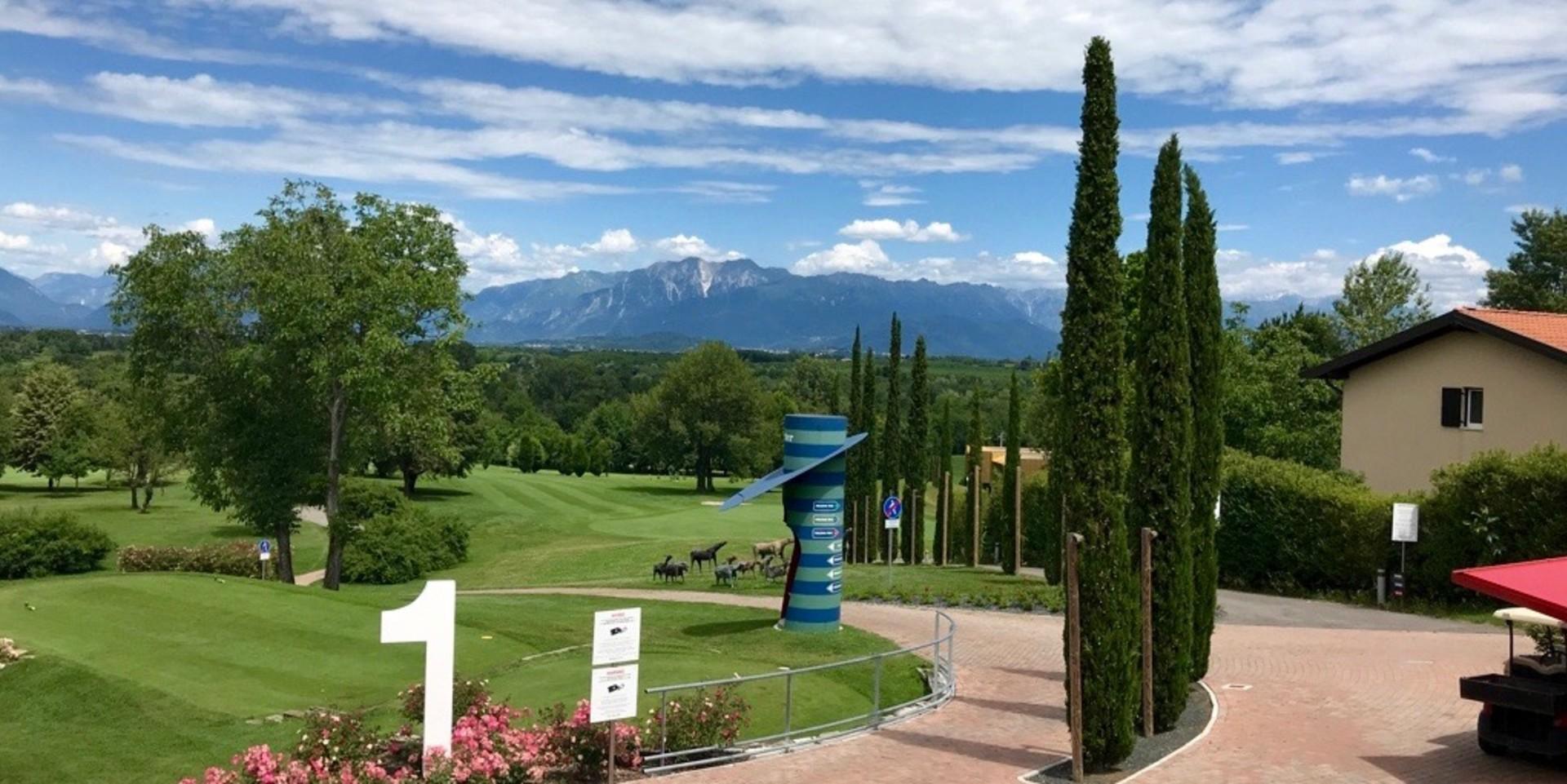 Golfreisebericht über Italien, Udine - Hotel Villaverde Golf & Resort