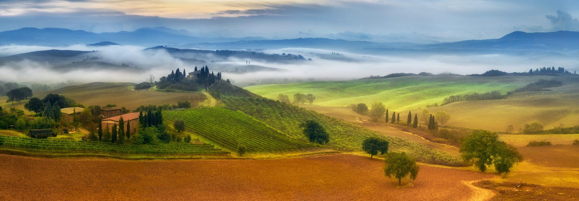 Golfen & Wein in der Toskana