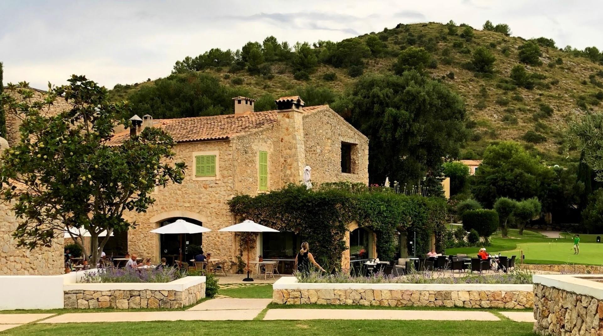Golfreisebericht über Spanien, Mallorca - Fincahotel Cases de Pula