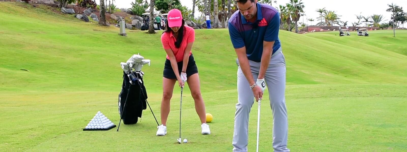 1. Golf-Trainingsvideo Treffmoment