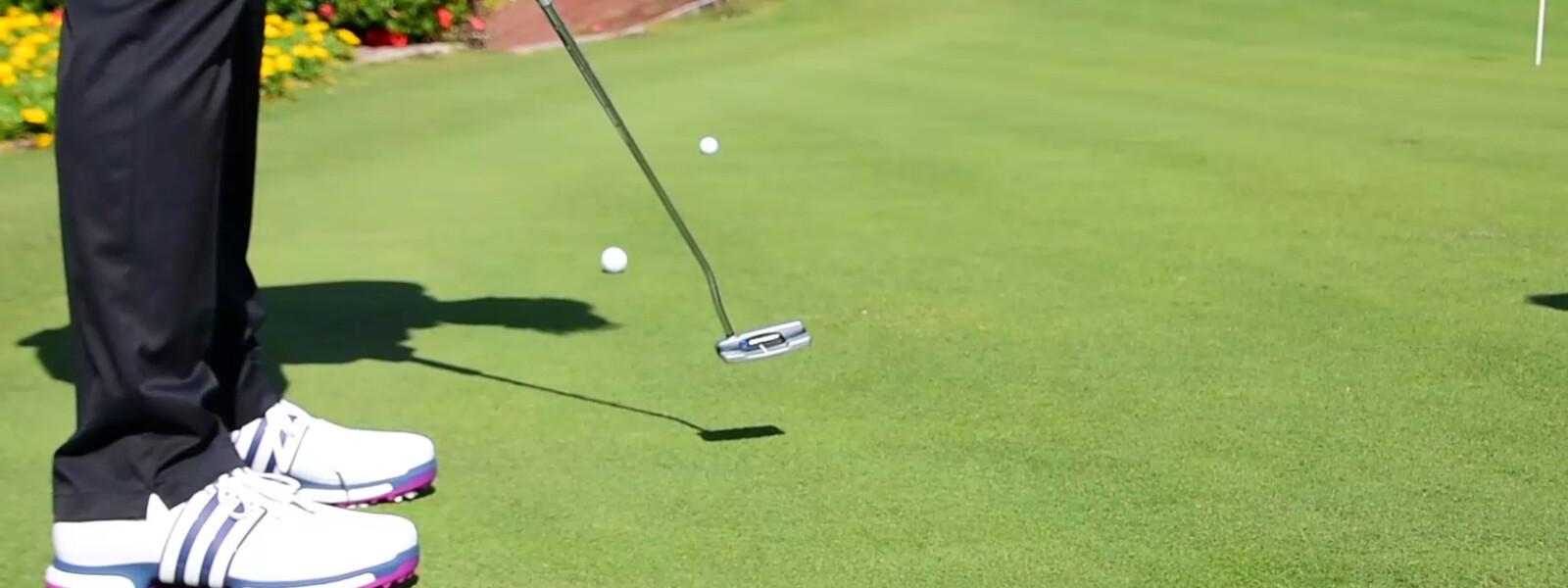 3. Golf-Trainingsvideo: Putting Richtungsweisend