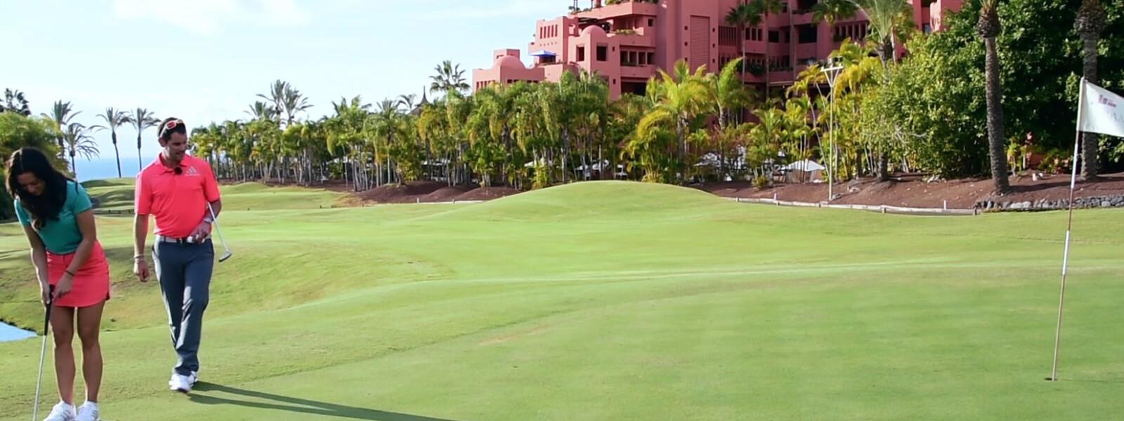 6. Golf-Trainingsvideo: Grün lesen