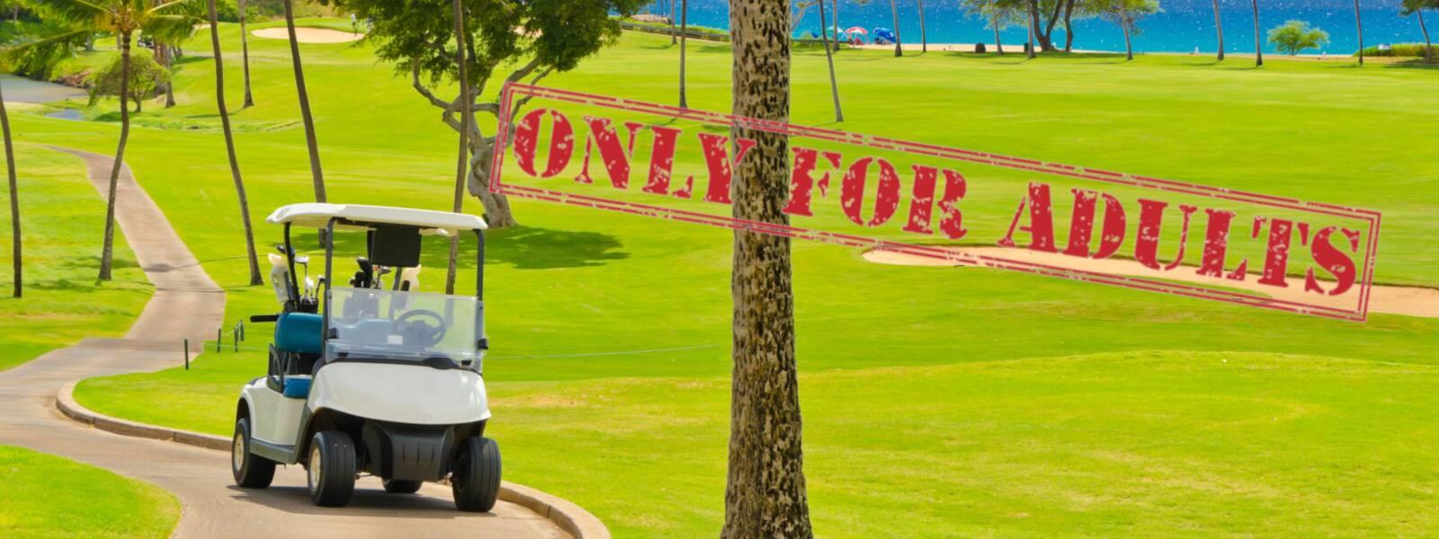 Spannend golfen, entspannend wohnen: Golfreisen für Erwachsene