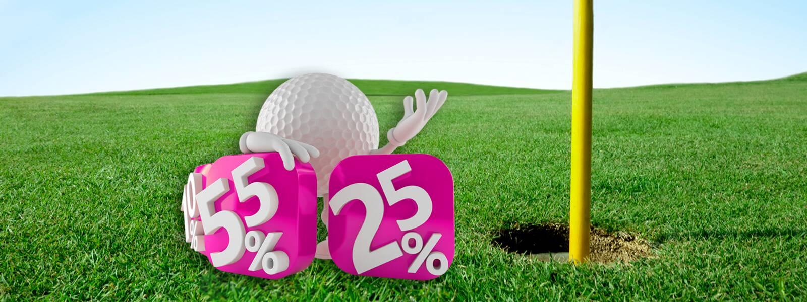 Der grosse Golfmotion Super Sale